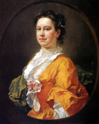 William Hogarth - Mrs. Salter