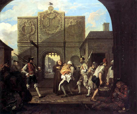 William Hogarth - O the Roast Beef of Old England
