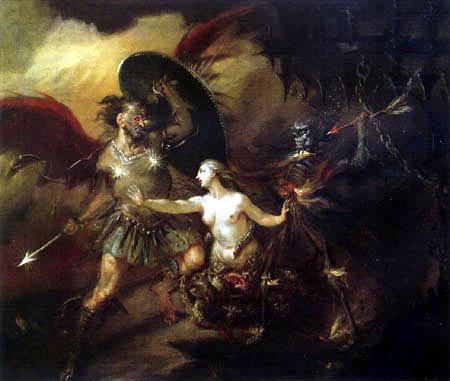 William Hogarth - Satan, Sünde und Tod
