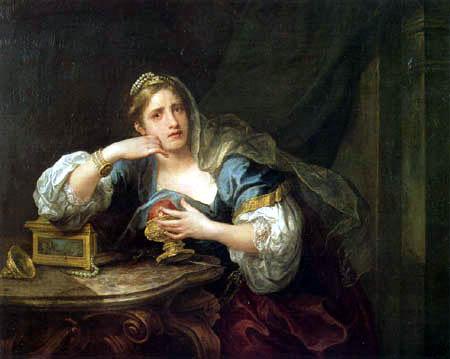 William Hogarth - Sigismunda trauert um das Herz von Guiscard