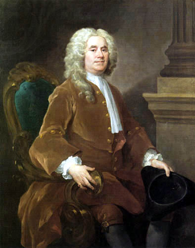 William Hogarth - Porträt William Jones