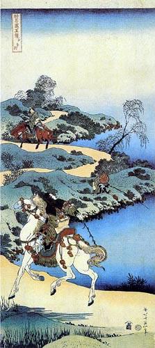 Katsushika Hokusai - Gedicht der Jugend