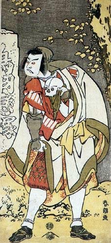 Katsushika Hokusai - Der Schauspieler Ichikawa Ebizo IV.
