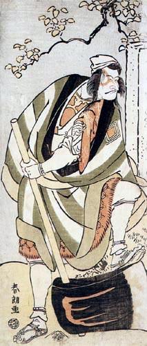 Katsushika Hokusai - L'acteur Sakata Hangoro III