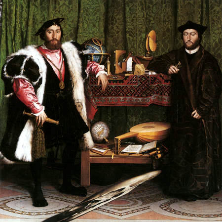 Hans Holbein the Younger - The two French envoys