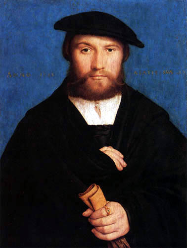 Hans Holbein the Younger - Portrait of Hermann Wedigh