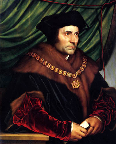 Hans Holbein the Younger - Portrait of Thomas More