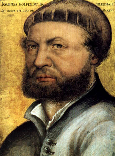 Hans Holbein the Younger - Selfportrait