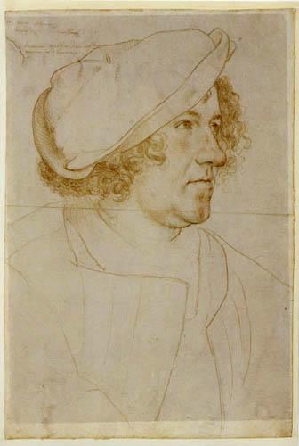 Hans Holbein the Younger - Jakob Meyer zum Hasen