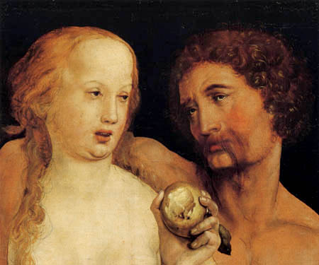 Hans Holbein the Younger - Adam and Eve