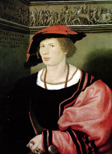 Hans Holbein the Younger - Portrait of Benedikt von Hertenstein