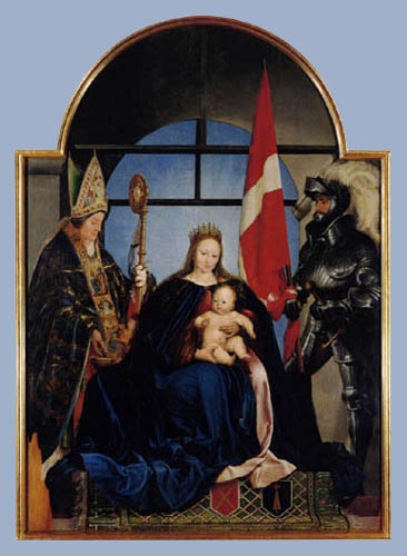 Hans Holbein the Younger - The Madonna of Solothurn