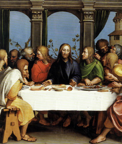Hans Holbein the Younger - The Lord´s Supper
