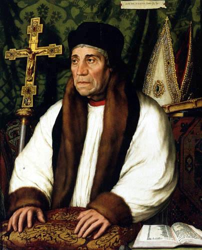 Hans Holbein der Jüngere - William Warham, Erzbischof von Canterbury