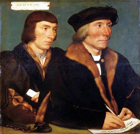 Hans Holbein the Younger - Thomas Godsalve und sein Sohn