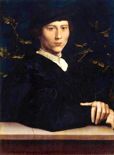 Hans Holbein the Younger - Portrait of Derich Born