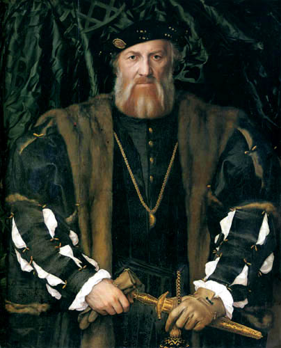 Hans Holbein the Younger - Portrait of Charles de Solier