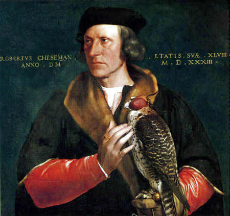 Hans Holbein the Younger - Portrait of Robert Cheseman