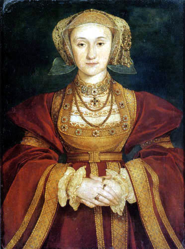 Hans Holbein the Younger - Portrait of Anne of Cleve
