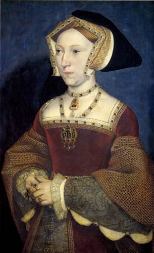 Hans Holbein the Younger - Portrait of Jane Seymour