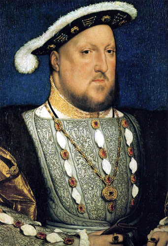 Hans Holbein the Younger - Portrait of Heinrich VIII