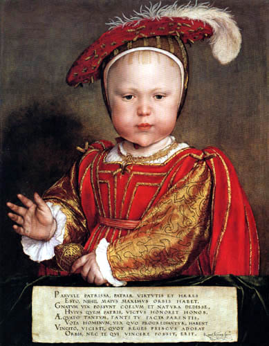 Hans Holbein the Younger - Porträt Edward VI.