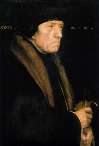 Hans Holbein the Younger - Portrait of John Chambers
