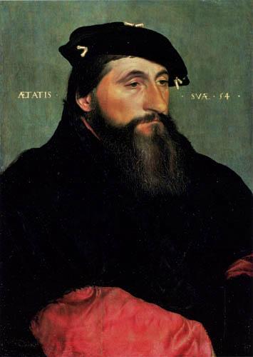 Hans Holbein der Jüngere - Herzog Anton der Gute von Lothringen