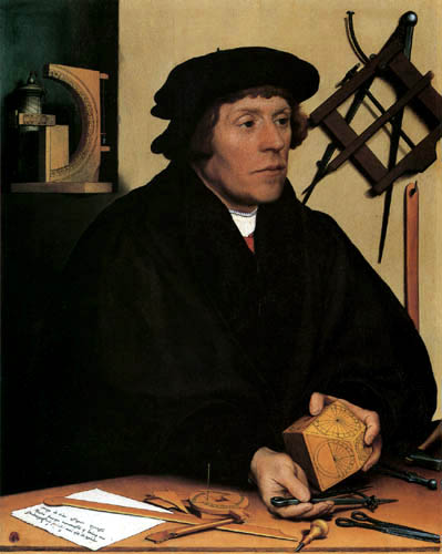 Hans Holbein the Younger - Portrait of Nicolaus Kratzer