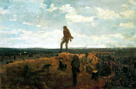 Winslow Homer - Defiance, Inviting a Shot Before Petersburg