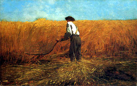 Winslow Homer - The veteran in the new field