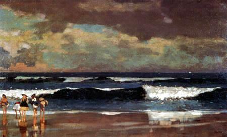 Winslow Homer - On the beach