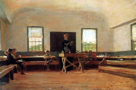 Winslow Homer - Die Dorfschule