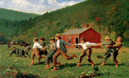 Winslow Homer - Snap the Whip