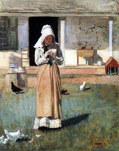 Winslow Homer - The Sick Chicken