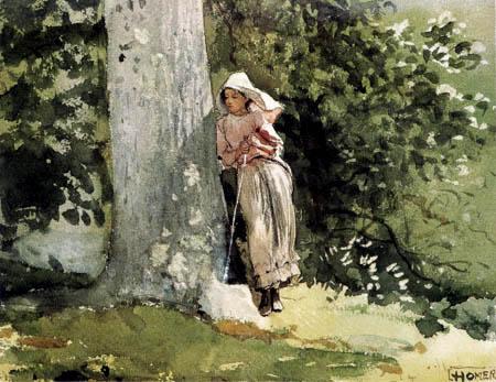 Winslow Homer - Müde