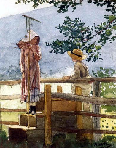 Winslow Homer - Spring