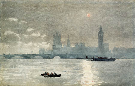 Winslow Homer - The Houses of Parliament