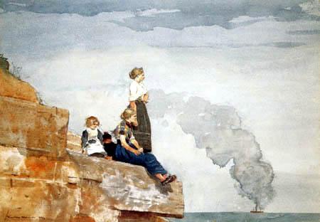 Winslow Homer - Fishermans Family