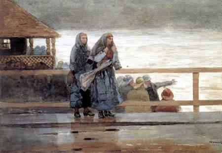 Winslow Homer - Perils of the Sea