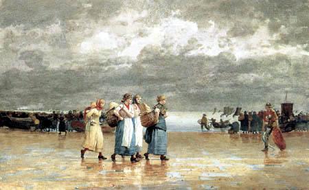 Winslow Homer - Vier Fischerfrauen