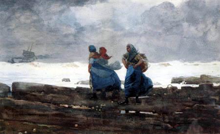 Winslow Homer - Fischerfrauen