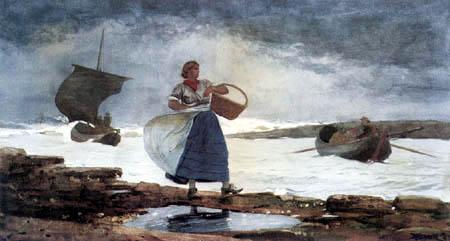 Winslow Homer - Windy Day