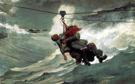 Winslow Homer - Life Line