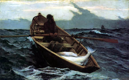 Winslow Homer - Fog Warning