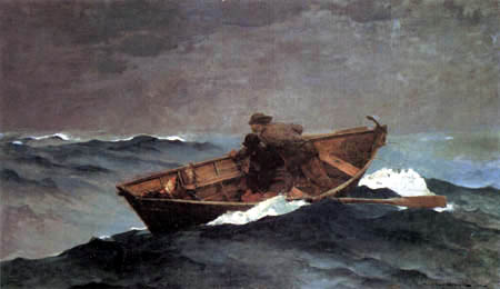 Winslow Homer - Lost in the Grand Banks