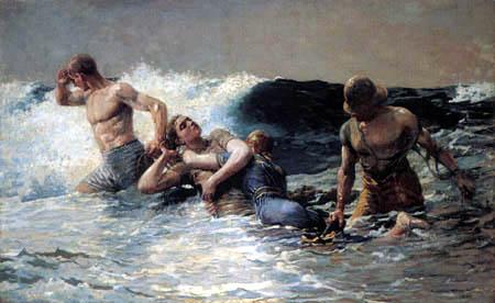 Winslow Homer - Ressac