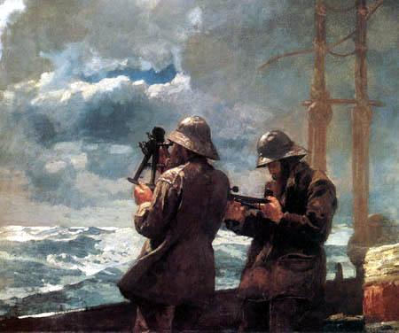 Winslow Homer - Eight Bells