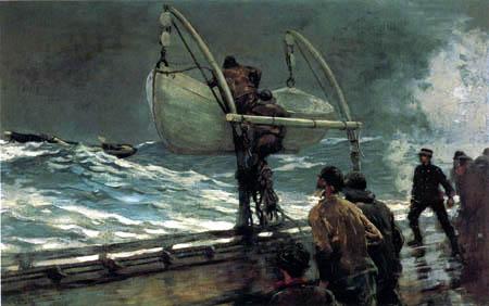 Winslow Homer - Signal de détresse