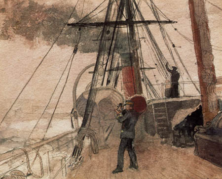 Winslow Homer - Observations on Shipboard